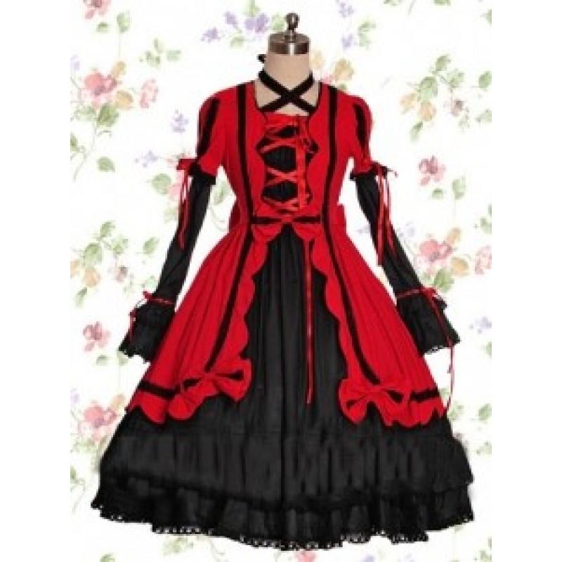 Black & Red Cott...