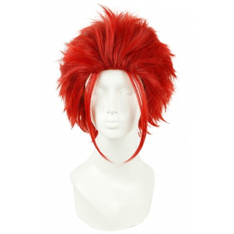 30CM Short《K》Suoh Mikoto Red Cosplay Wig  CW00496