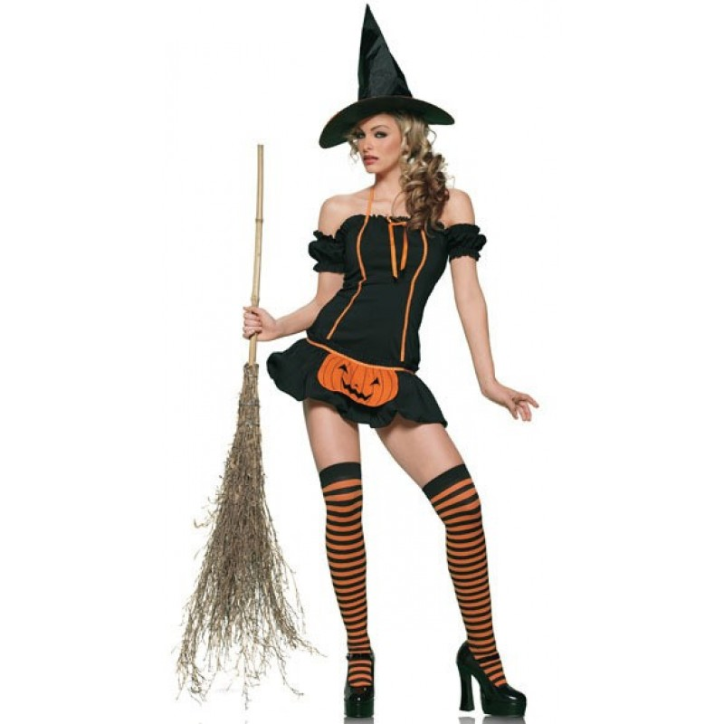 Adult witch cosplay ...