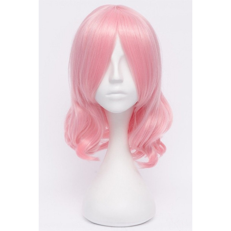 35cm Pink Curly TouH...