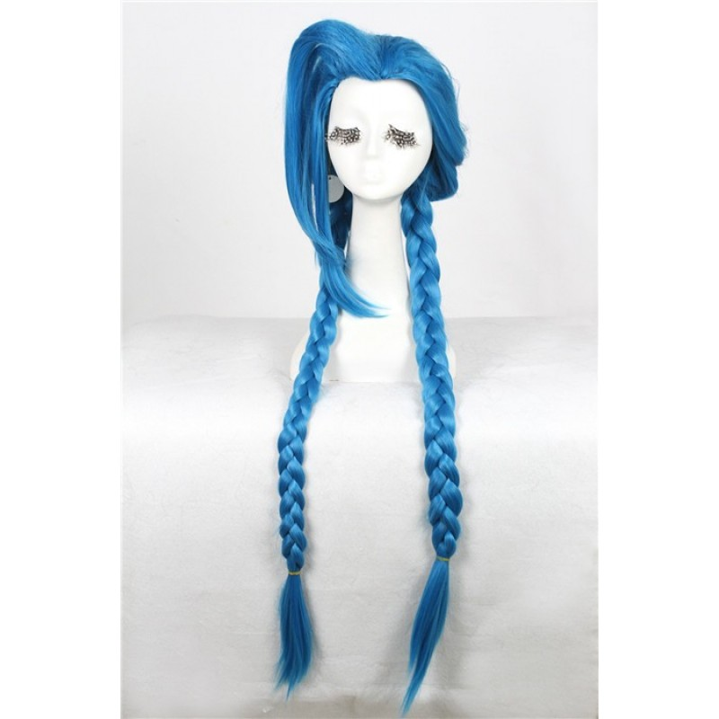 100cm blue braid cos...