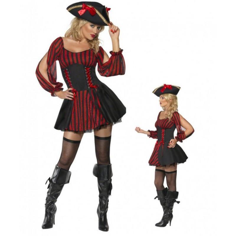Black Cap Pirate Hal...