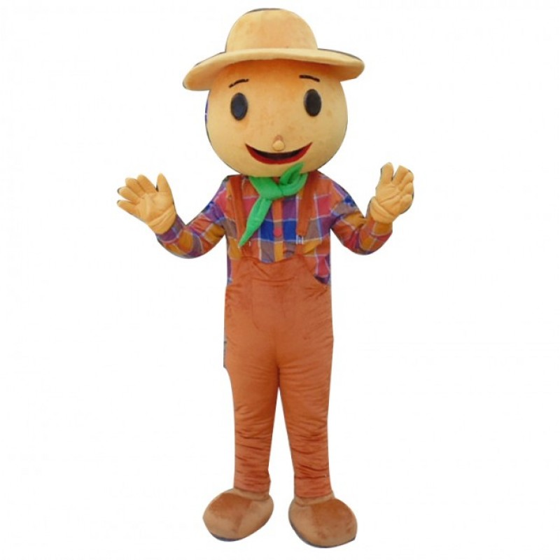 Scarecrow Mascot Cos...