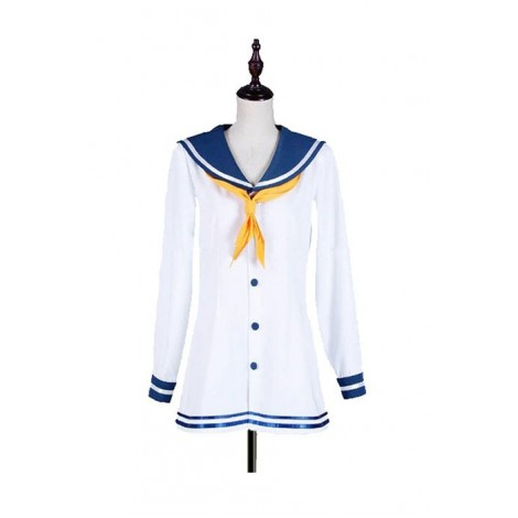 Kantai Collection The Kagerō class Destroyer Snowy Wind Cosplay Costume GC007