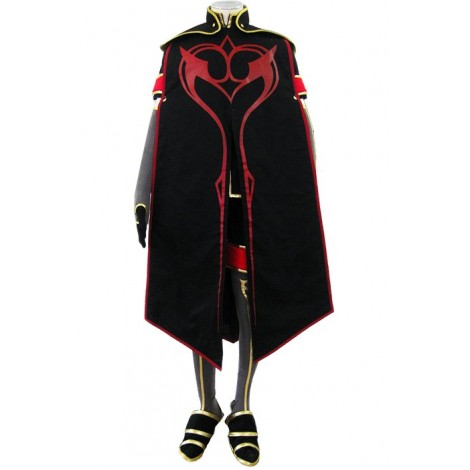 Tales Of  The Abyss Asch Cosplay Costume GC00313