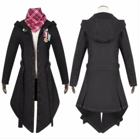PUBG Jacket Cloak Trench Coat Outfit Halloween Cosplay Costume