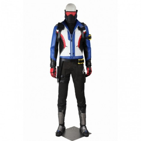 Overwatch Soldier 76 Jack Morrison Cosplay Costume Full Set ACOW006
