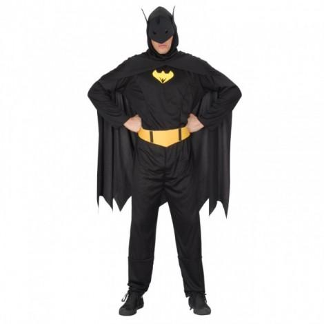 Classic Black Batman Jumpsuit halloween Cosplay Costume