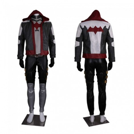 Batman Arkham Knight Red Hood Jason Todd Luxury Cosplay Costume