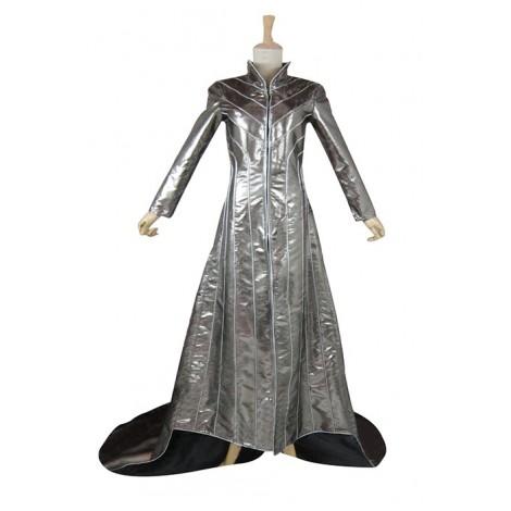 The Hobbit Genie King Dark Grey Long Coat Cosplay Costume MC00249
