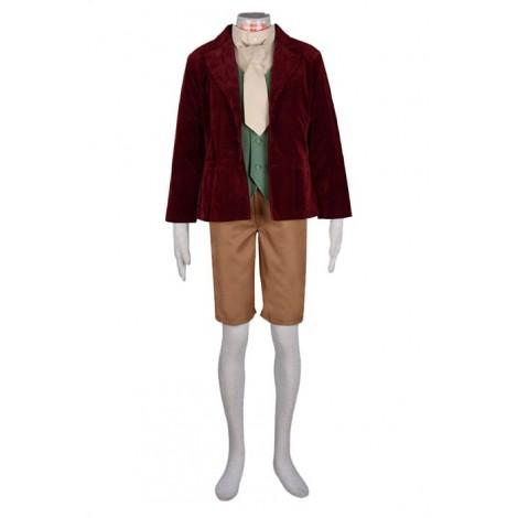 The Hobbit Bilbo Baggins Cosplay Costume MC00248