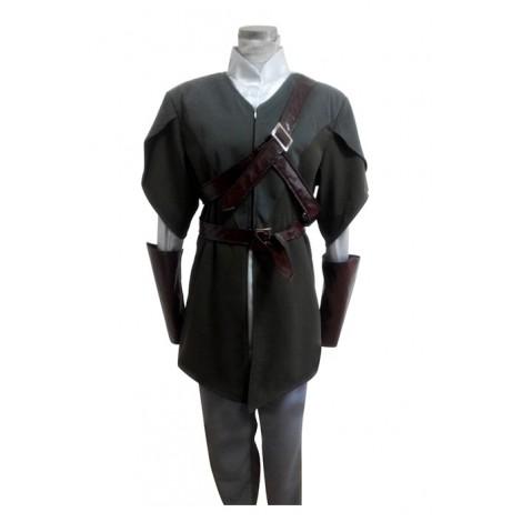 Lord Of The Rings Hobbit Elf Legolas Greenleaf Cosplay Costume MC00247