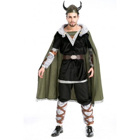 Lord of the Rings Hobbit Medieval Warrior Cosplay Costume MC00245