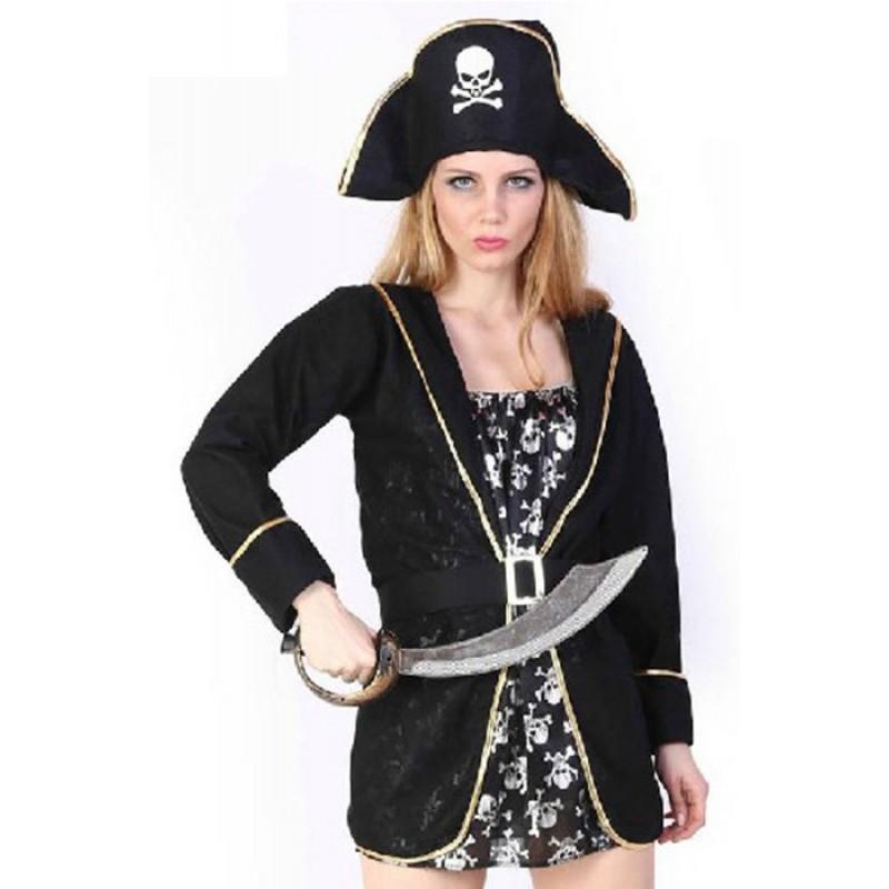 Black Hat With Skull...