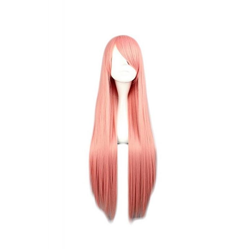 80cm Straight Pink P...
