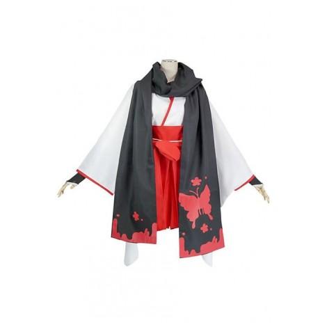 Inu x Boku SS Ririchiyo Shirakiin Reversion Cosplay Costume AC001198