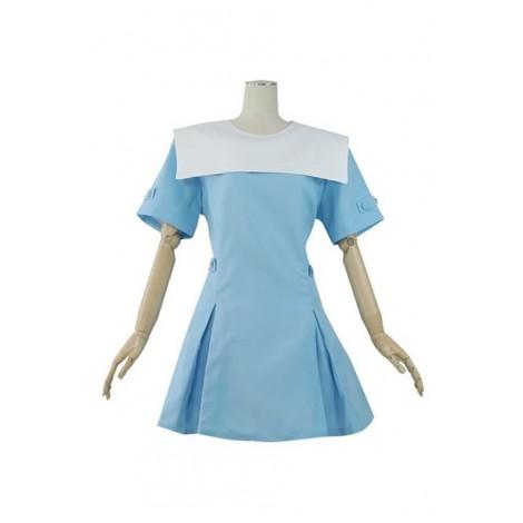 ZONE-00 Princess Hime Shirayuri Cosplay Costume AC001155