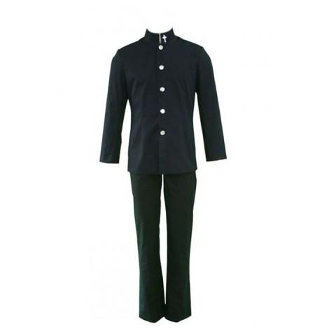 ZONE-00 SHIMA Black Cosplay Costume AC001156