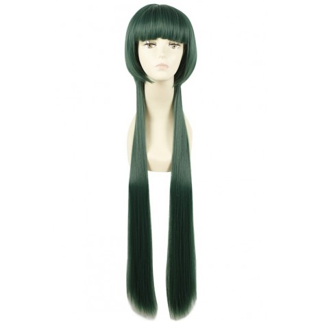 100CM Long Green Cosplay Wig Straight Hair Hitman Reborn Yuni AC001093