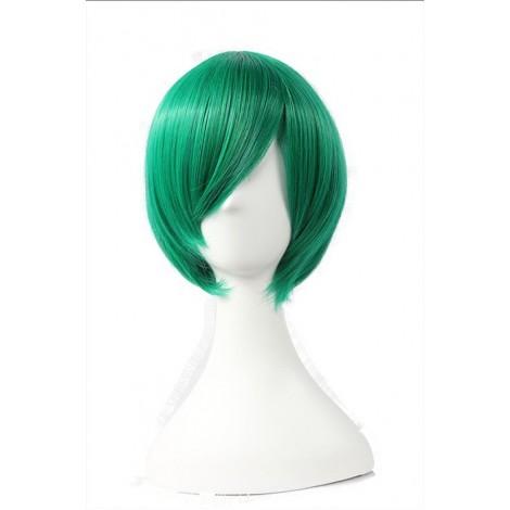 30cm Green Straight Hitman Reborn Fran Cosplay Wig AC001094