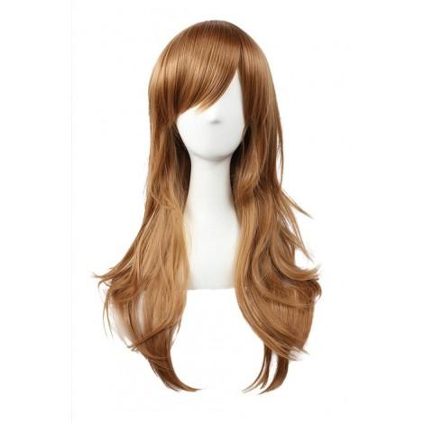 65cm Brown Curly Hitman Reborn Bianchi Cosplay Wig AC001096