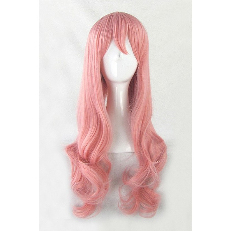 65cm Pink Curly AKB0...