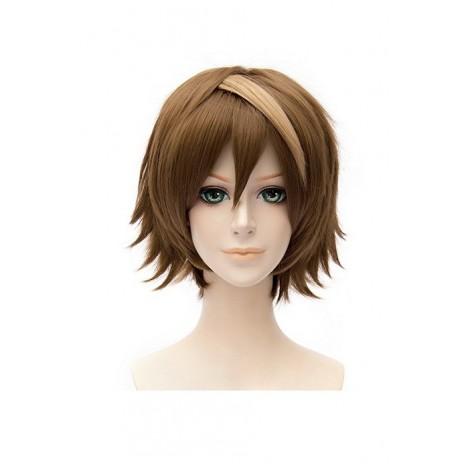 30cm Brown Guilty Crown OUMA SHU Cosplay Wig AC001015