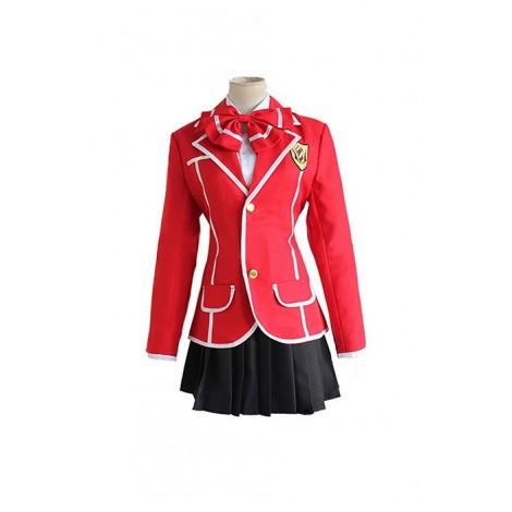 Guilty Crown Yuzuriha Inori Cosplay Costume AC001008