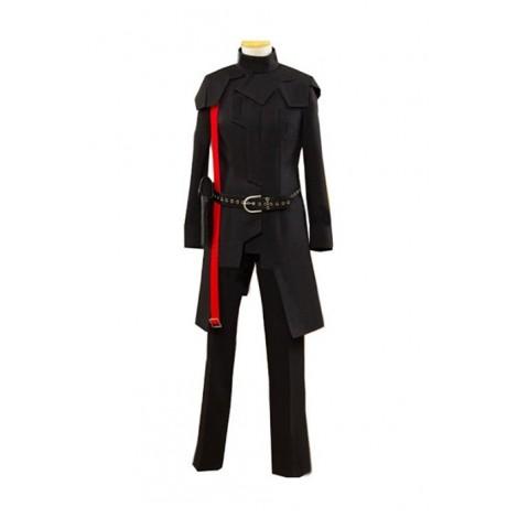 Guilty Crown Ouma SHU Black Battle Cosplay Costume Custom Made AC001009