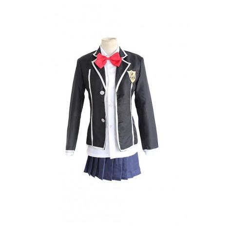 Guilty Crown Kuhouin Arisa School Female Uniform Cosplay Costume AC001011