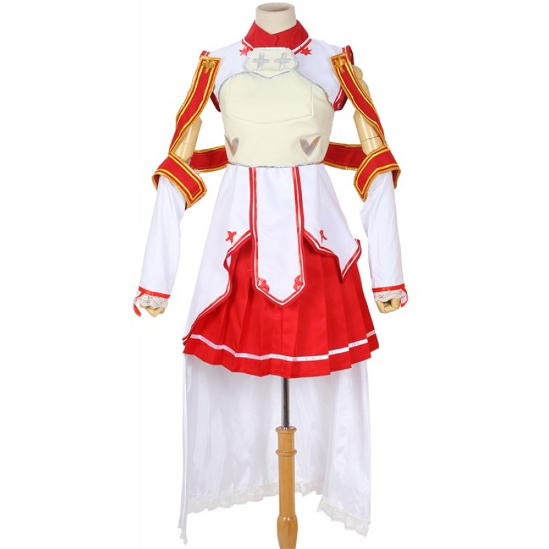 Red White cosplay co...