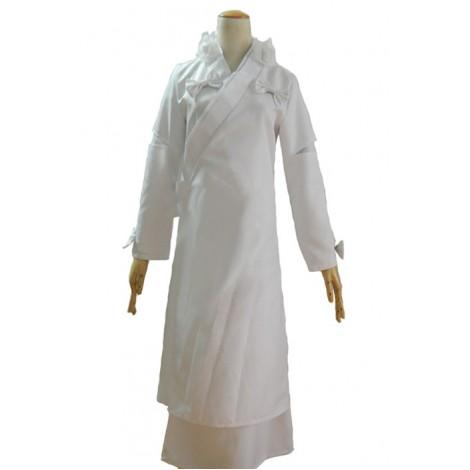 Inuyasha Kanna Cosplay Costume White Kimono AC00160