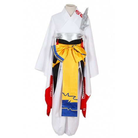 Inuyasha Sesshomaru Kimono Cosplay Costume AC00149